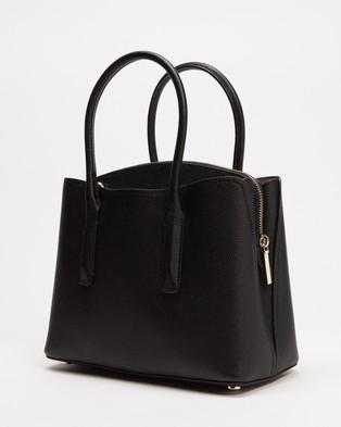 Kate Spade - Margaux Medium Satchel - Handbags (Black) Margaux Medium Satchel
