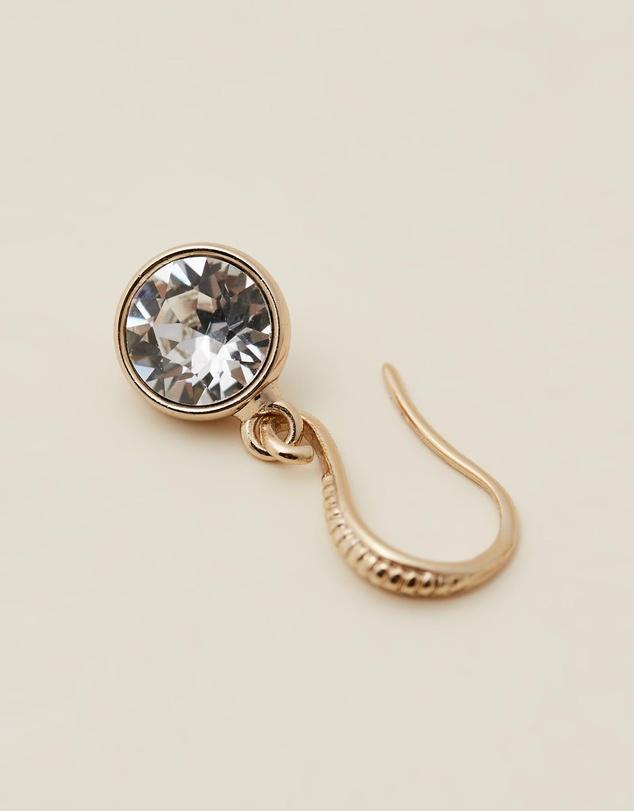 Women Nadir Earrings With Crystals From Swarovski