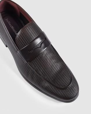 Julius Marlow Lapel - Dress Shoes (Mocha)