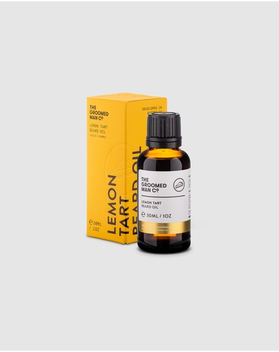 The Groomed Man Co - Lemon Tart Beard Oil