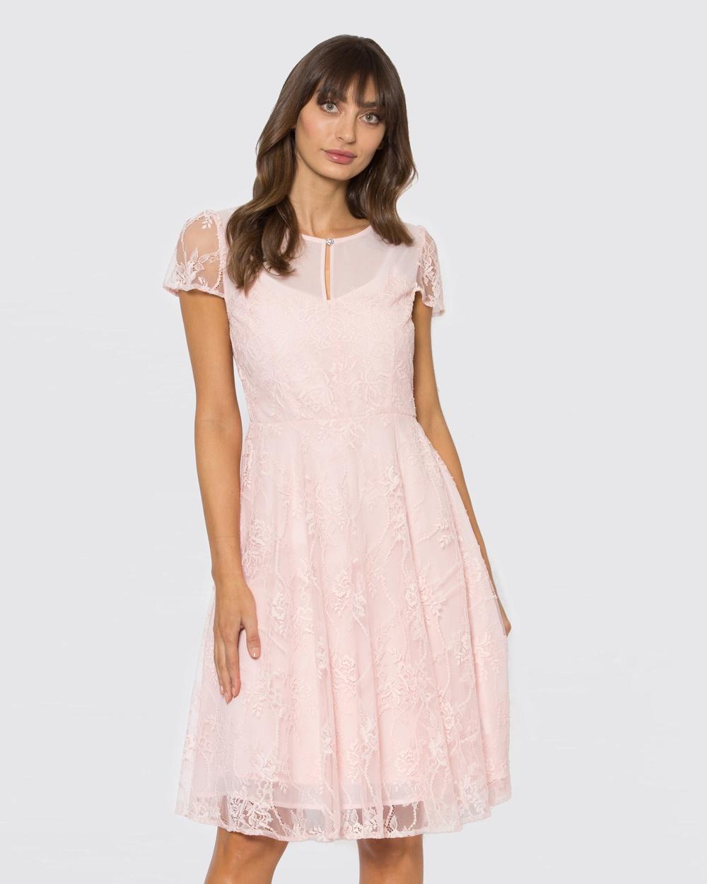 Alannah Hill Pink Mullholland Dress