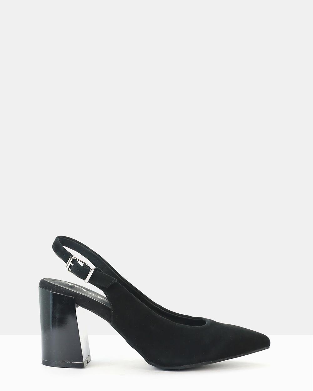 FRANK/E Viral Heels Black Viral