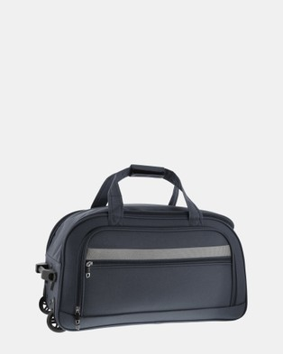 Cobb & Co Devonport Small Wheel Bag - Travel and Luggage (GREY)