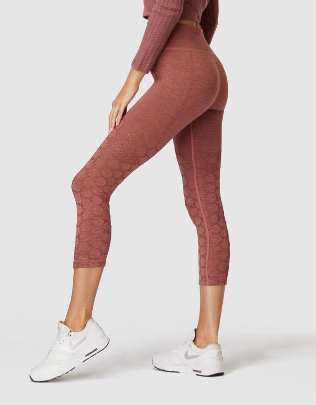 Women Universal Seamless 3/4 Leggings