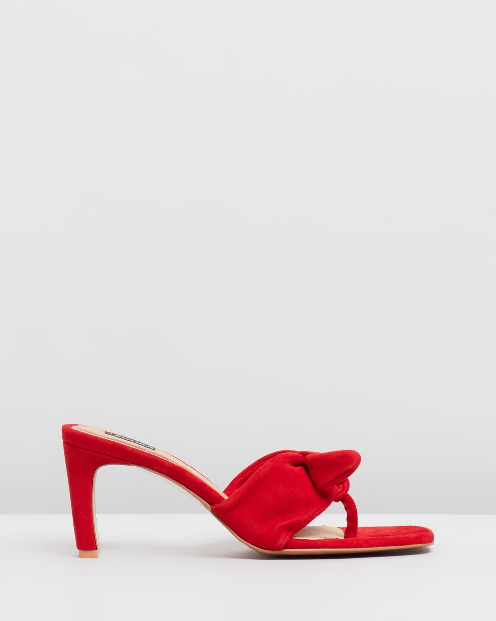 fc50ac67f Endear Thong Slide Heels by Jaggar The Label Online