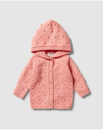 Wilson & Frenchy - Knitted Spot Jacquard Jumper - Babies