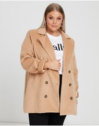 Calli Curve - Alys Double-Breasted Coat