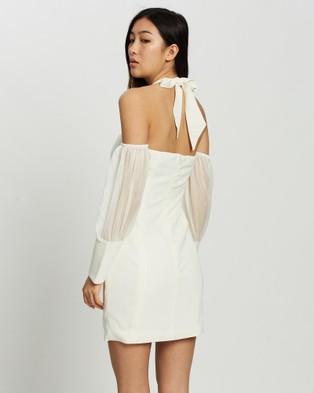 KIANNA Catalina Halter Dress - Dresses (Ivory)