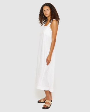 Jag Kiki Elastic Strap Dress - Dresses (white)