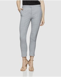 Oxford - Mia Check Suit Trousers