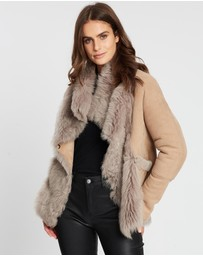 West 14th - Spring Street Shearling Coat
