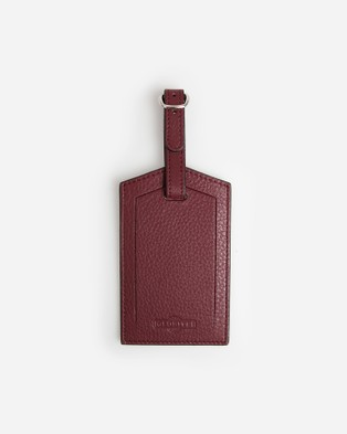 Globite Leather Luggage Identifier - Travel and Luggage (Mulberry)