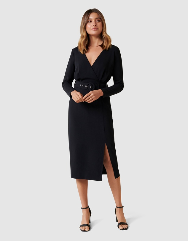 Forever New - Brigid Belted Workwear Dress