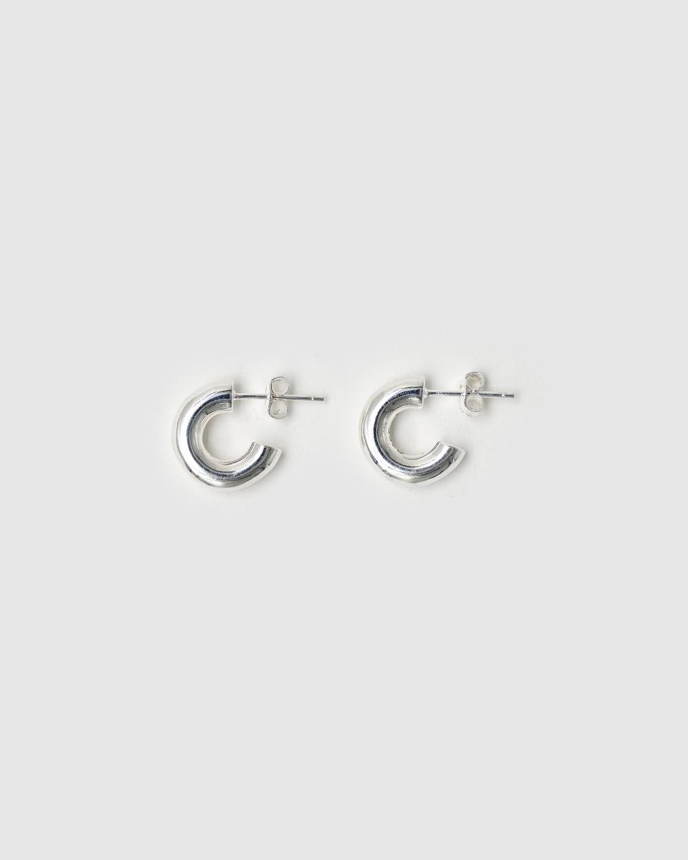 Brie Leon 925 Solid Everyday Mini Stud Earrings Jewellery Silver