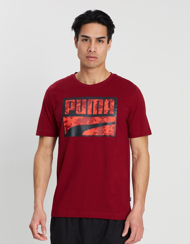 Puma - Rebel Camo Filled Tee