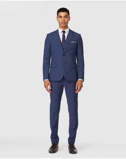 Jack London Leicester Suit Jacket Slate