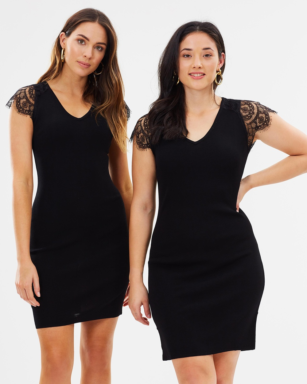 M.N.G Event Dress Bodycon Dresses Black Event Dress