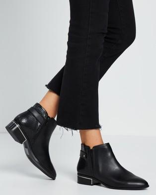 ALDO - Jeraelle Ankle Boots - Boots (Black) Jeraelle Ankle Boots