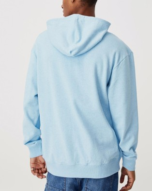 Cotton On NRL Embroidered Hoodie Hoodies Sharks