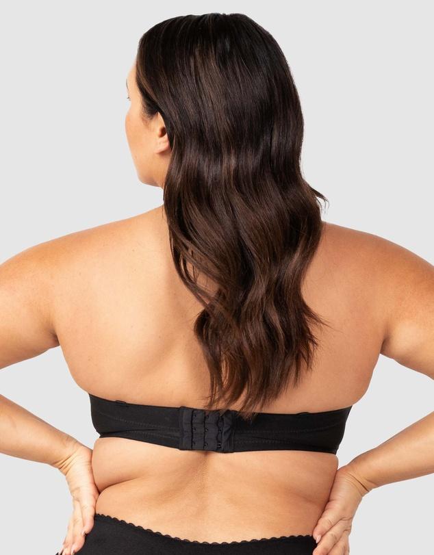 Women Beautiful Silhouette Strapless Bra