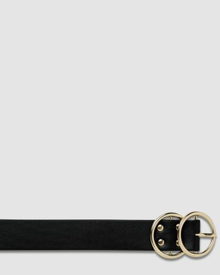 Status Anxiety Mislaid Belt - Belts (Black/Gold)