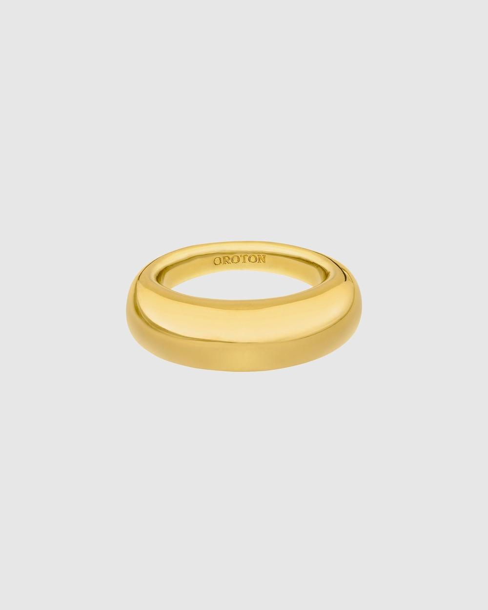 Oroton Cora Ring Jewellery Gold