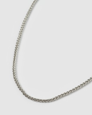 AOE MAN Benz Men's Necklaces - Jewellery (Silver)