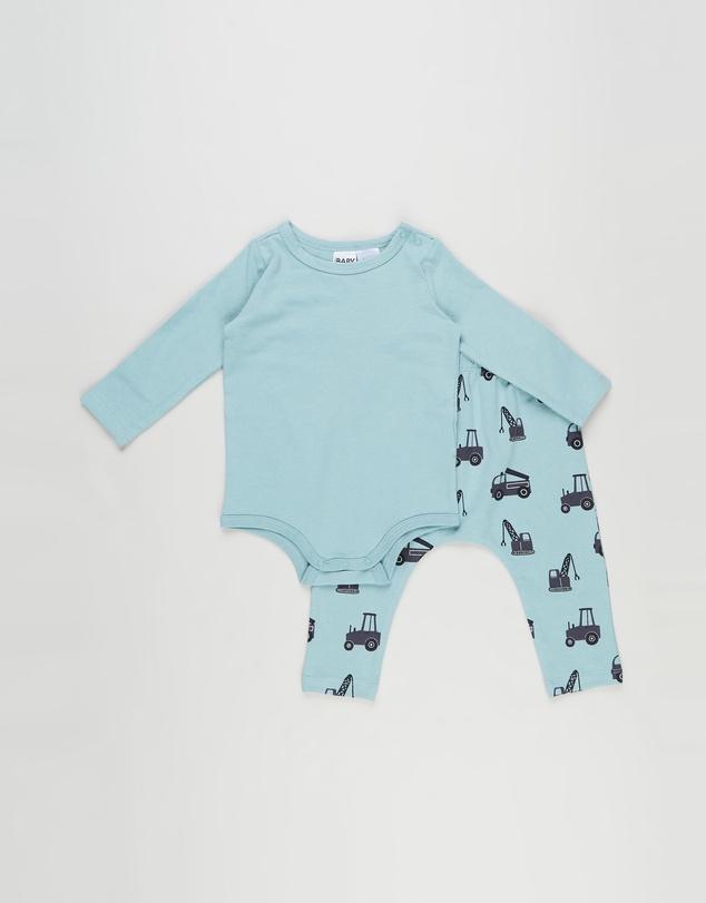 Kids LS Bubbysuit & Leggings Bundle - Babies