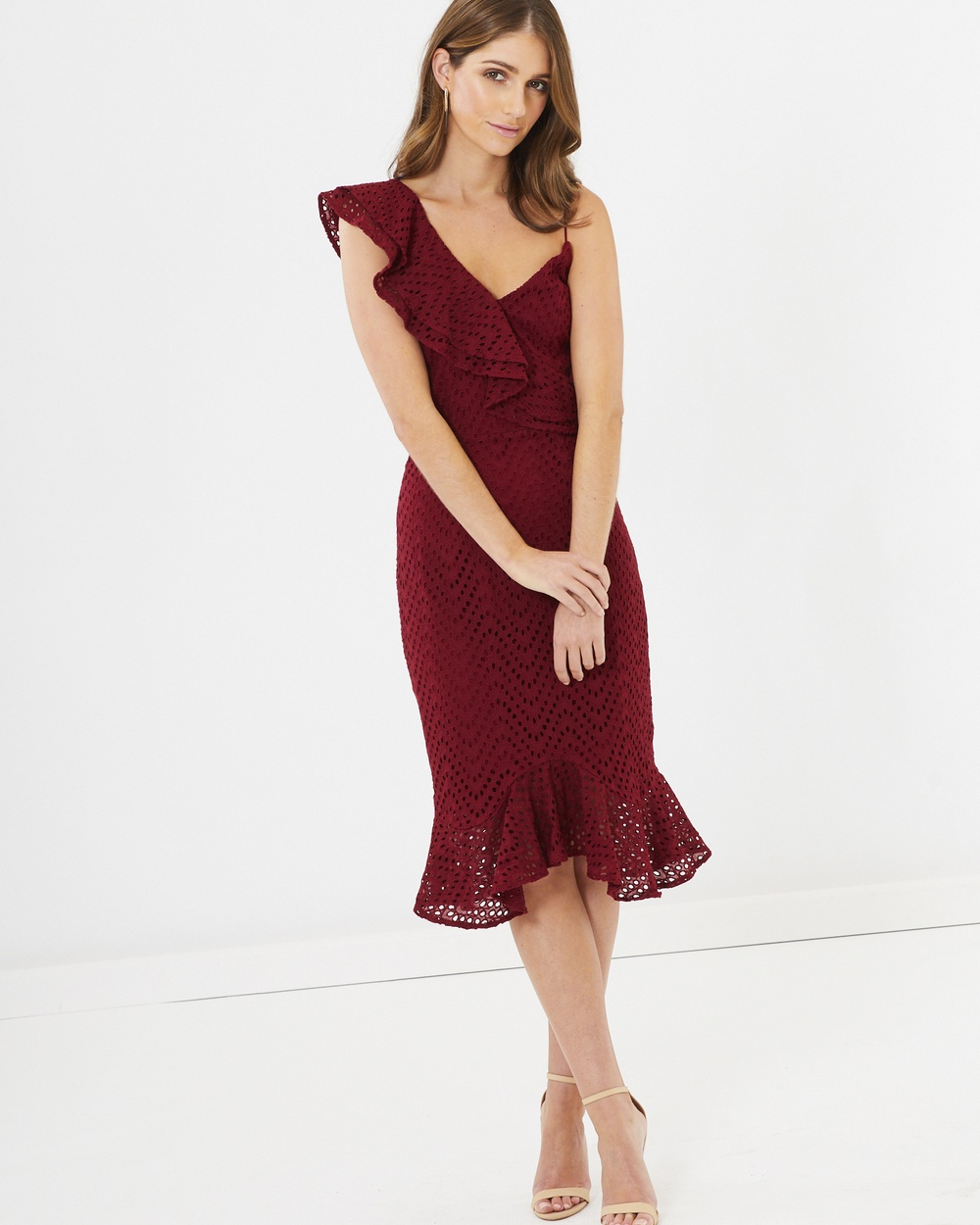 CHANCERY Charlize Dress Bridesmaid Dresses Burgundy Lace Charlize Dress