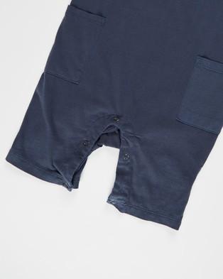 Cotton On Baby Beau Playsuit   Babies - Bodysuits (Navy Blazer Wash)