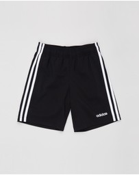 adidas Performance - Essentials 3-Stripes Woven Shorts - Kids-Teens