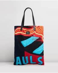 PS by Paul Smith - Fast Cheetah Flag Tote Bag