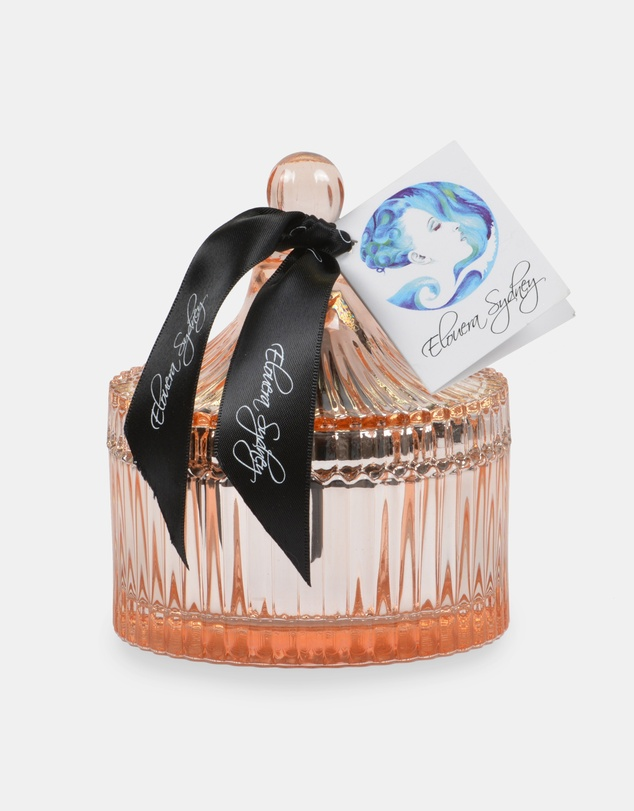 Life Moroccan Spice Rose Gold Carousel Candle