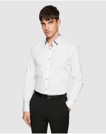 Yd. Whistler Slim Shirt White