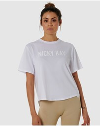 Nicky Kay - QuickDry Logo Tee