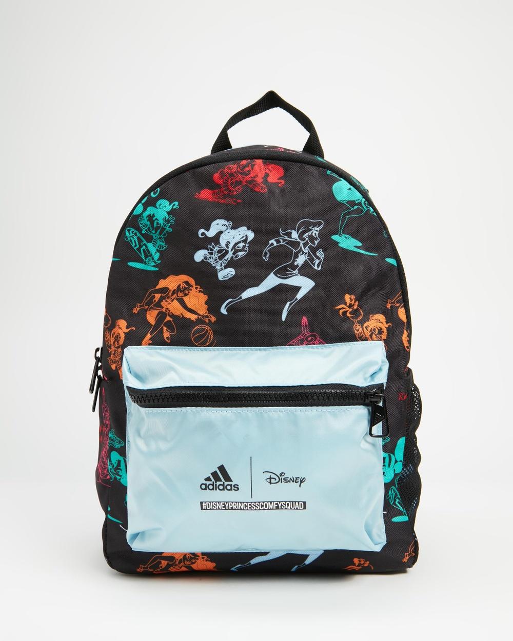 adidas Performance Disney Princesses Primegreen Backpack Kids Backpacks Black & Multicolour