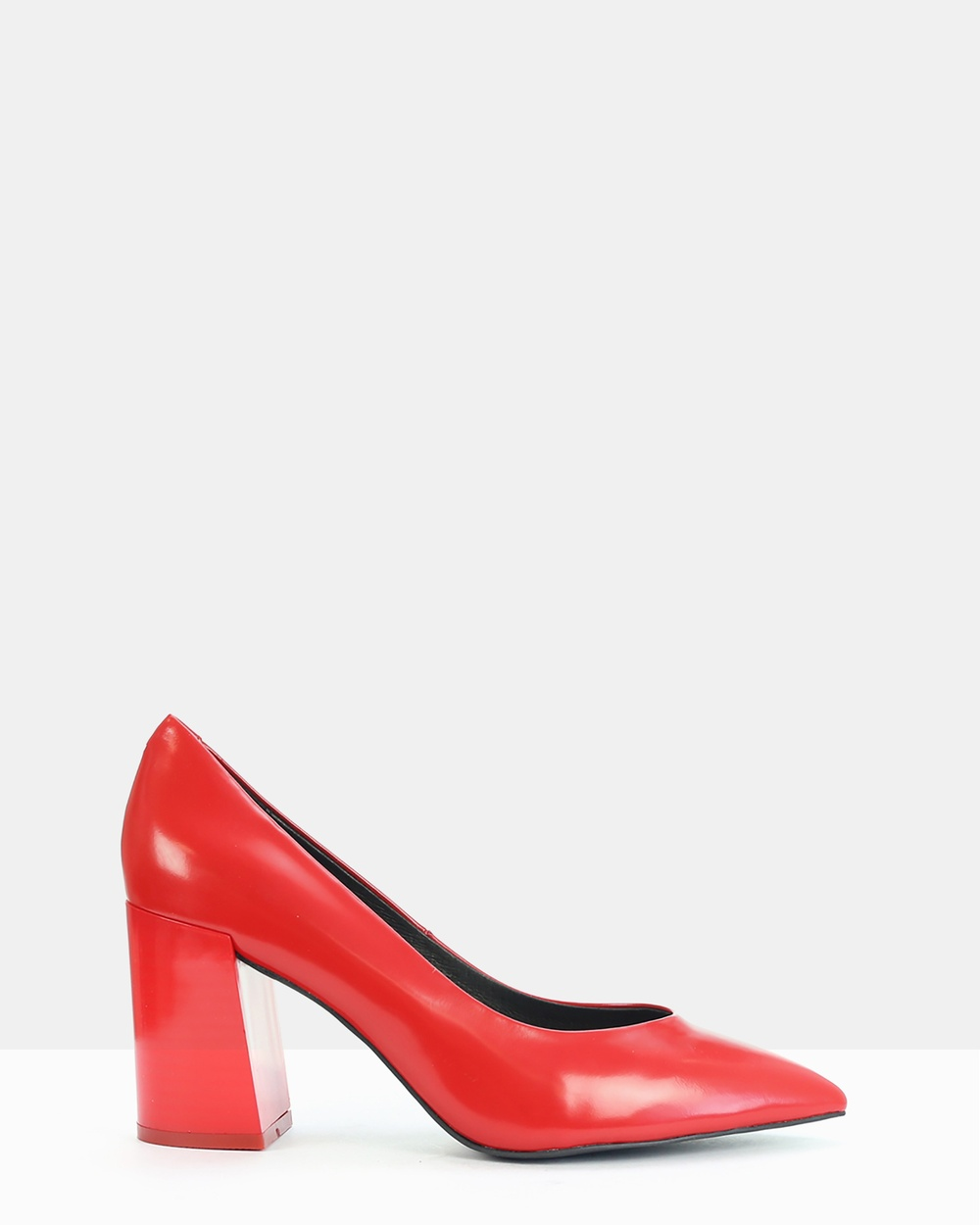 FRANK/E Curve Heels Red Curve