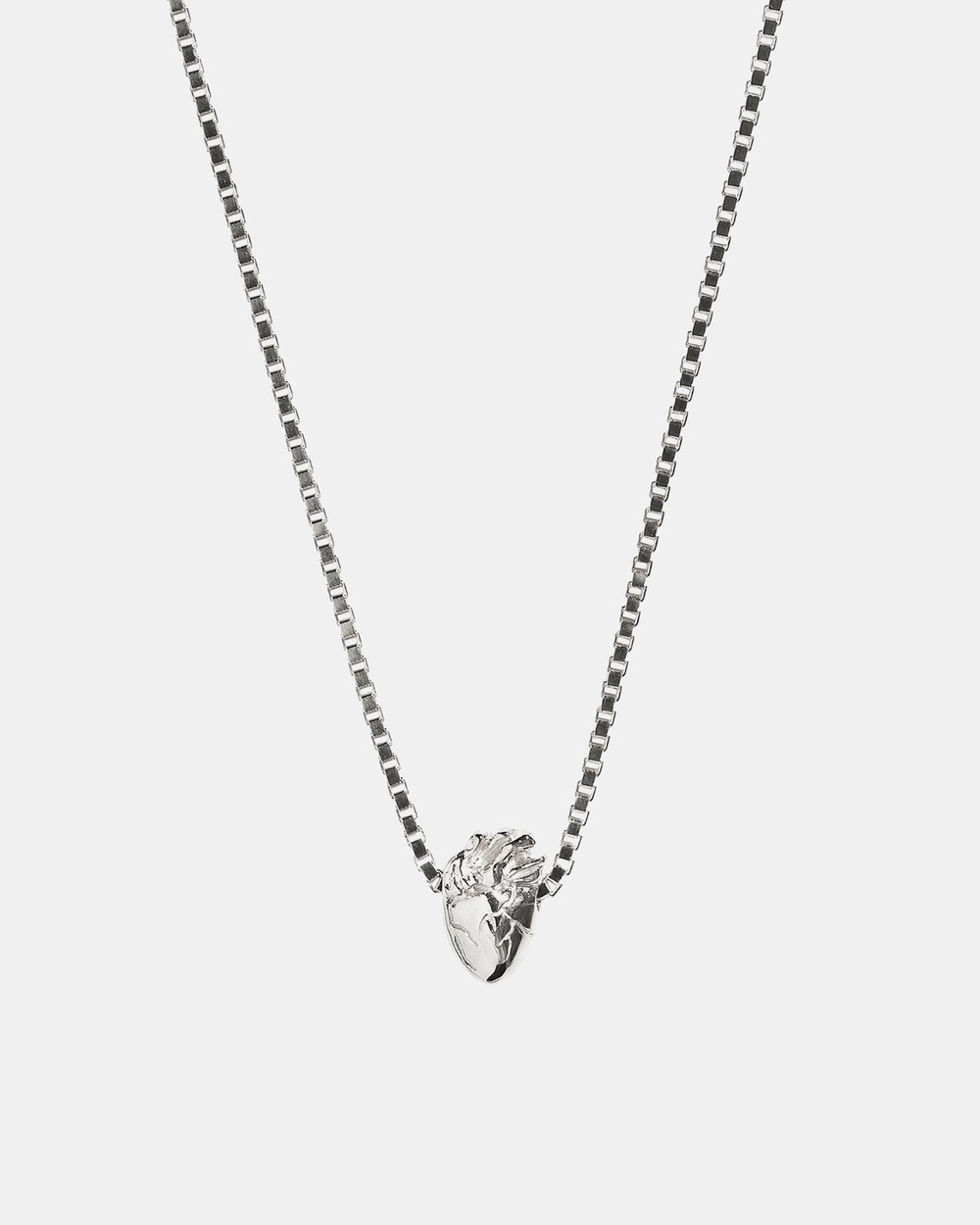 Aletheia & Phos I Carry Your Heart Necklace Jewellery Silver