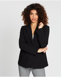 Banana Republic Petite - Structured Twill Sculpted Blazer