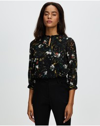 Marcs - Painted Petals Blouse