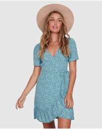 Billabong - Bluesday Wrap Dress