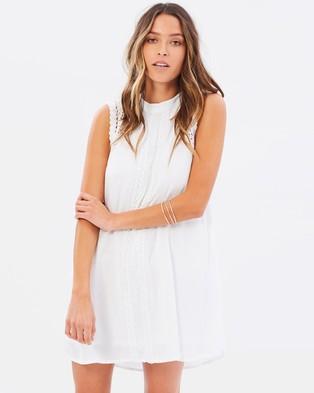 Volcom – Kewl Breeze Dress – Dresses Star White