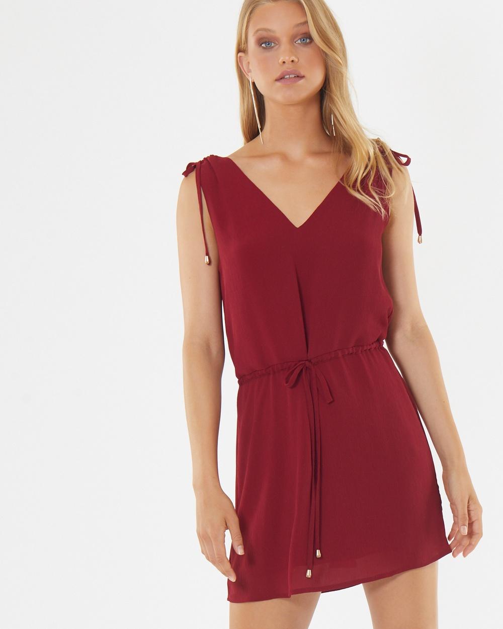 Tussah Memphis Dress Printed Dresses Plum Memphis Dress