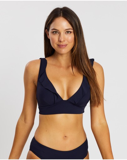 Sea Level Australia Frill Bra Top Night Sky