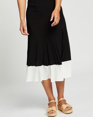 LENNI the label Spear Skirt - Skirts (Block)