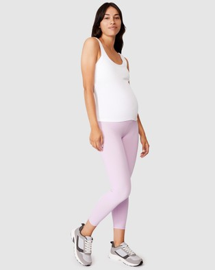 Cotton On Body Active Maternity Core 7 8 Tights - 7/8 Tights (Blossom)