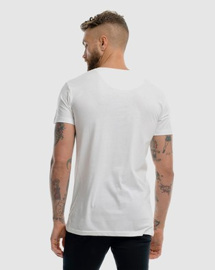 First Division Contract Embroidery Tee - T-Shirts & Singlets (WHITE)