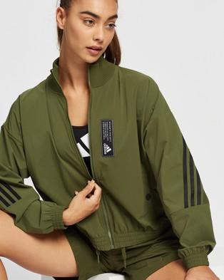 adidas Performance Sportswear Aeroknit Track Top - Coats & Jackets (Wild Pine)