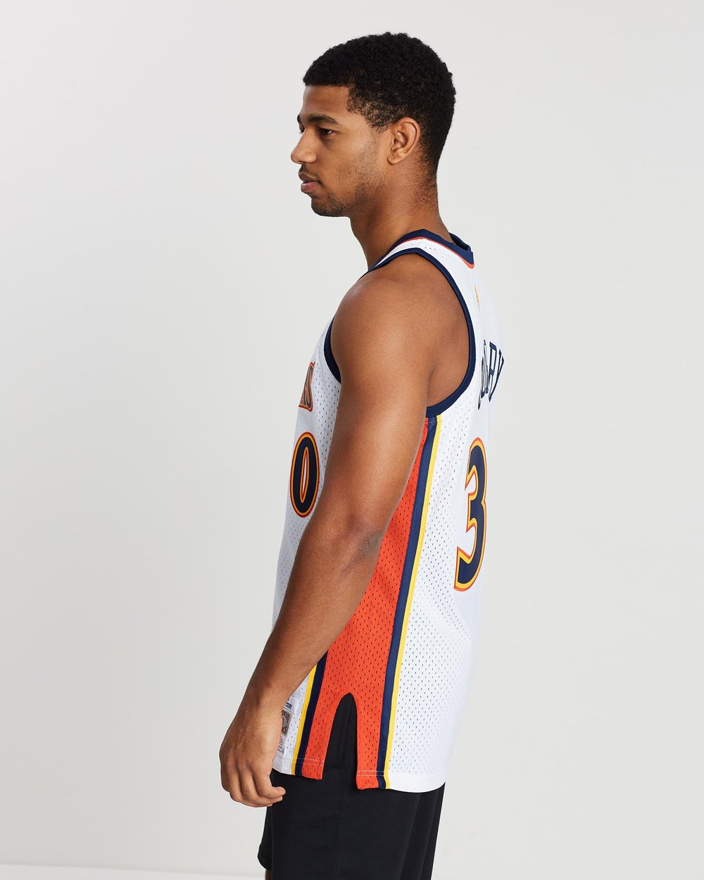 reputable site 2b909 dc980 Golden State Warriors Stephen Curry 2009-10 Hardwood Classics Home Jersey