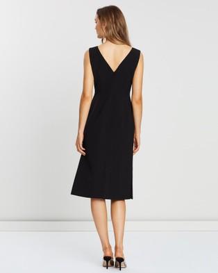 FRIEND of AUDREY Dylan Buttoned Dress - Dresses (Black)